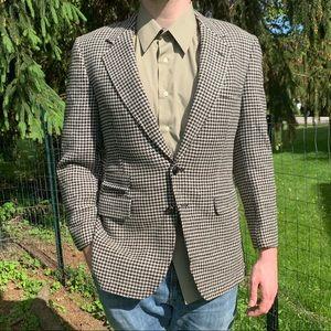 Vintage LARRIMOR's Houndstooth Sports Jacket Coat
